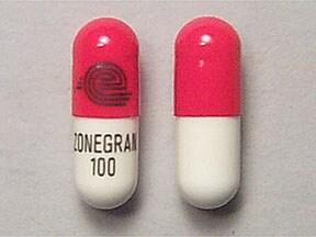 Zonegran 100 mg capsule