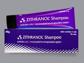 Zithranol 1 % shampoo