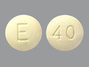 Opana ER 40 mg tablet, crush resistant, extended release