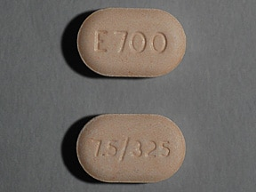 Endocet 7.5 mg-325 mg tablet