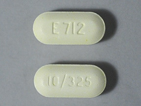 Endocet 10 mg-325 mg tablet