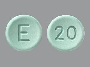 Opana ER 20 mg tablet, crush resistant, extended release
