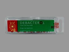Debacterol 30 %-50 % mucosal swab