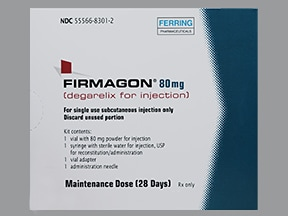 Firmagon kit with diluent syringe 80 mg subcutaneous solution