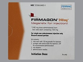 Firmagon kit with diluent syringe 120 mg subcutaneous solution