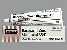 bacitracin zinc 500 unit/gram topical ointment