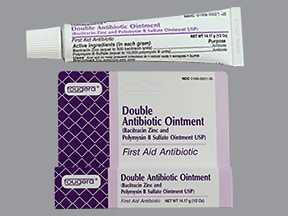 bacitracin-polymyxin B 500 unit-10,000 unit/gram topical ointment