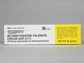 betamethasone valerate 0.1 % topical cream