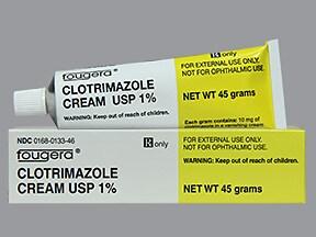 clotrimazole 1 % topical cream
