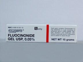 fluocinonide 0.05 % topical gel