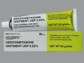 desoximetasone 0.25 % topical ointment