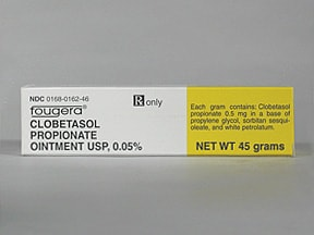 clobetasol 0.05 % topical ointment