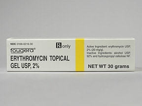 Does topical erythromycin work for acne