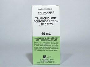triamcinolone acetonide 0.025 % lotion