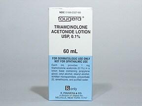triamcinolone acetonide 0.1 % lotion