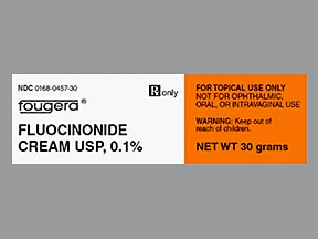 fluocinonide 0.1 % topical cream