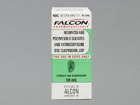 neomycin-polymyxin-hydrocort 3.5 mg-10,000 unit/mL-1 % ear drops,susp