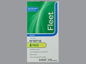 Fleet Enema 19 gram-7 gram/118 mL