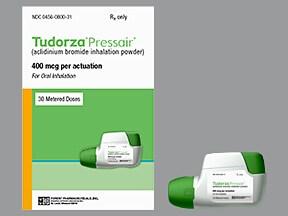 Tudorza Pressair 400 mcg/actuation breath activated