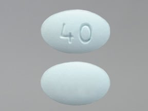 Viibryd 40 mg tablet