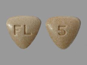 Bystolic 5 mg tablet