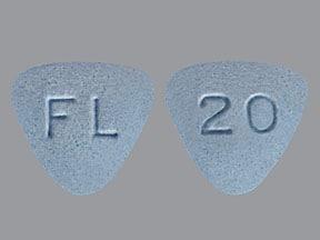 Bystolic 20 mg tablet
