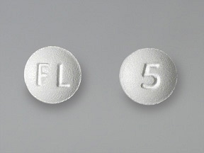 Lexapro 5 mg tablet