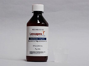 Lexapro 5 mg/5 mL oral solution
