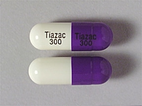 Tiazac 300 mg capsule,extended release