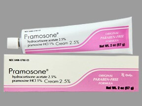 Pramosone 2.5 %-1 % topical cream