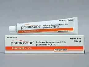 Pramosone 2.5 %- 1 % topical ointment
