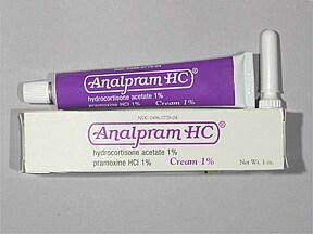 Analpram-HC 1 %-1 % rectal cream