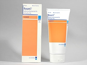 Rosanil 10 %-5 % (w/w) topical cleanser
