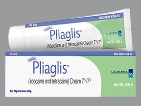 Pliaglis 7 %-7 % topical cream