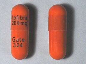 Lofibra 200 mg capsule