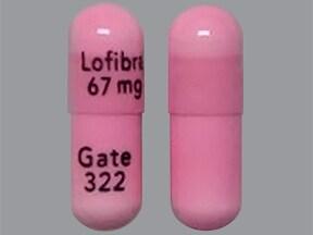 Lofibra 67 mg capsule