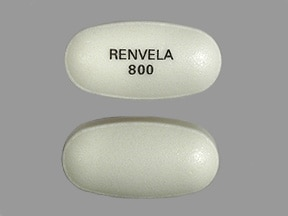 Renvela 800 mg tablet