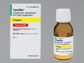 Tamiflu 6 mg/mL oral suspension