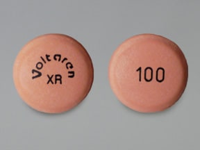 Voltaren-XR 100 mg tablet,extended release