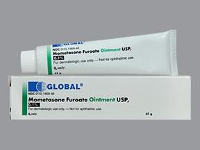 mometasone 0.1 % topical ointment