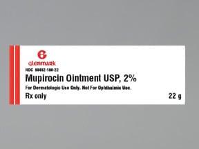 mupirocin 2 % topical ointment