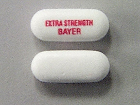 Extra Strength Bayer 500 mg tablet
