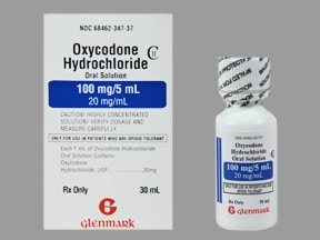 oxycodone 20 mg/mL oral concentrate