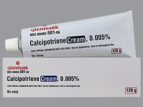 calcipotriene 0.005 % topical cream