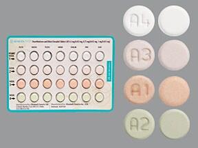 Alyacen 7/7/7 (28) 0.5 mg/0.75 mg/1 mg-35 mcg tablet