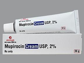 mupirocin 2 % topical cream