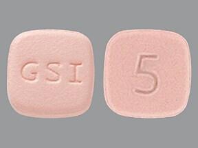 Letairis 5 mg tablet