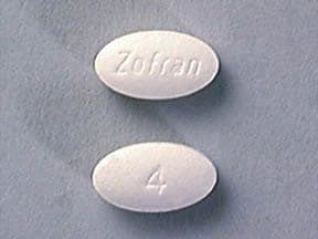 Zofran 4 mg tablet