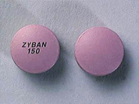 Zyban 150 mg tablet,sustained-release