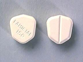 Lamictal 150 mg tablet